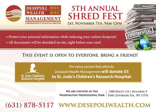 5th Annual Shred Fest Event
