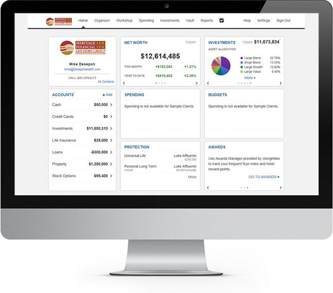 Heritage CFO Desktop
