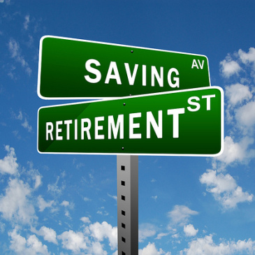 street sign savings and retirement