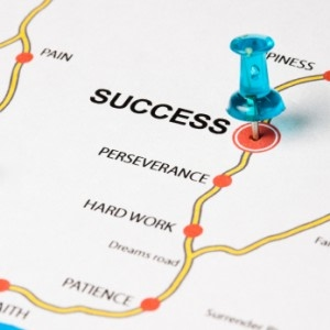 a depiction of a personal financial roadmap to lead the investor to success