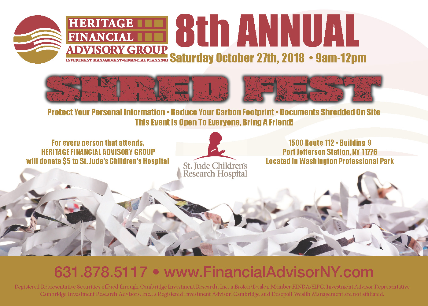 8th Annual Shred Fest Event